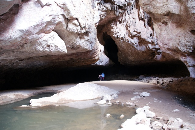 The Initial Cavern once you enter Tunnel Creek