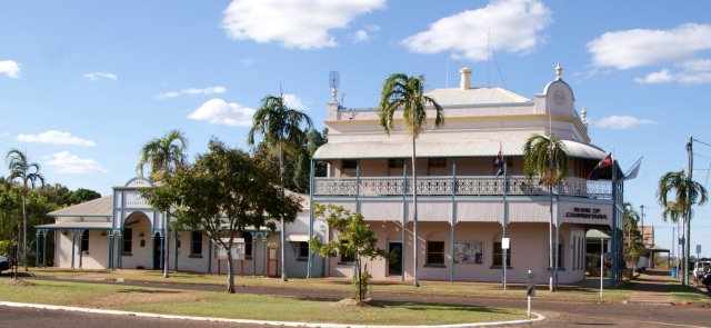 Carpentaria Shire Council offices at Normanton