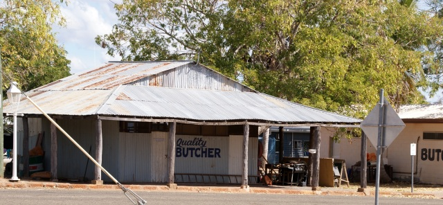 Old Butcher Shop at Croydon