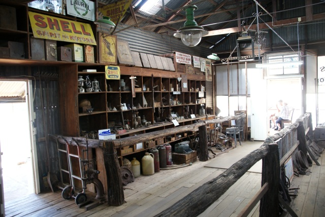 Inside the General Store at Croydon