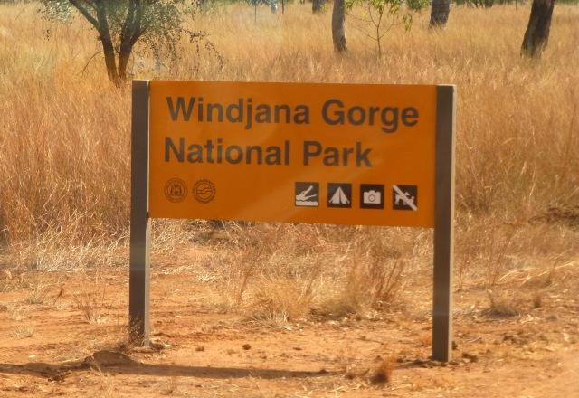 We have arrived - Windjana Gorge National Park