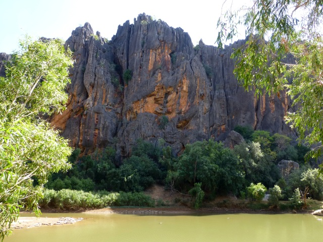 View in Windjana Gorge