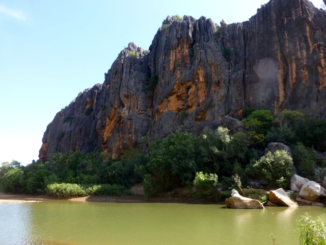 View in Windjana Gorge