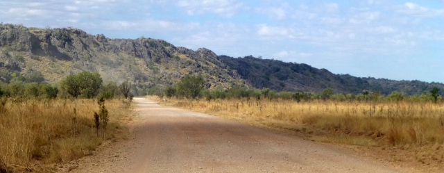 Along the road between Windjana Gorge and Tunnel Creek