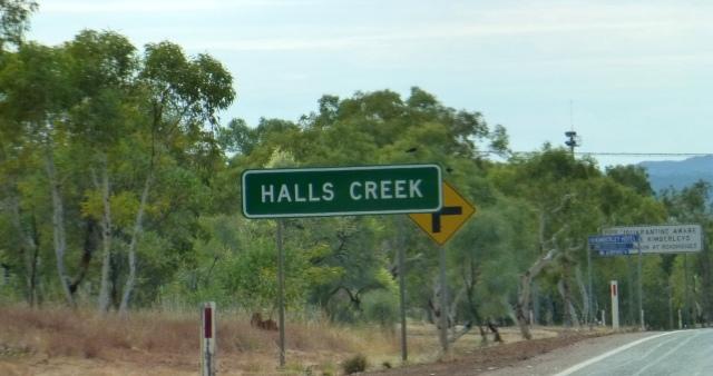 We've reached Halls Creek