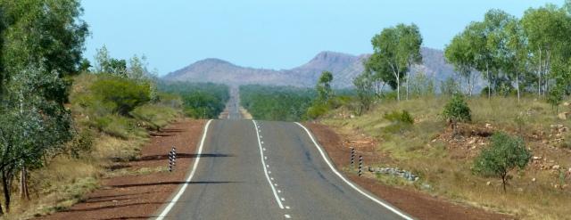 Heading east toward Kunurra