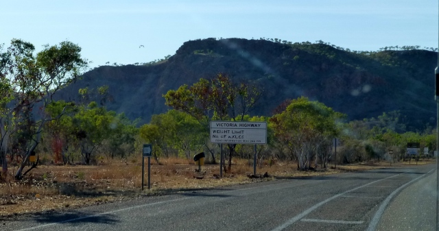 Approaching the border of Western Australia and the Northern Territory