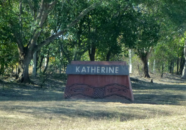Town Entry Sign - Katherine