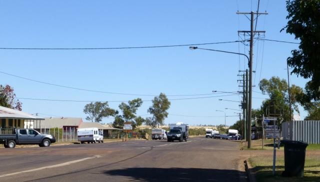 Main Street Camooweal looking west