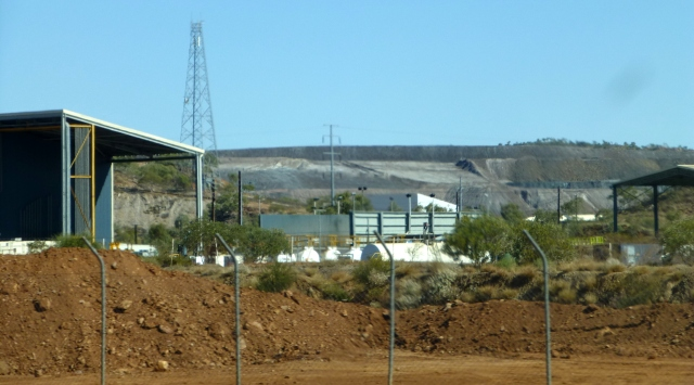 Mining infrastructure in Mount Isa