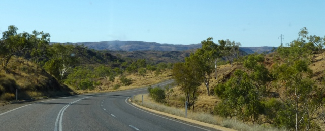 The view from the road between Mount Isa and Cloncurry