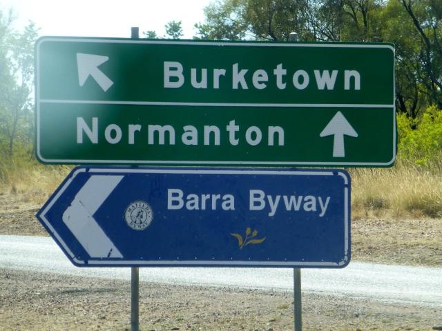 We went to Normanton