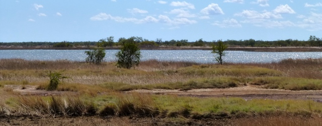 Wetlands just north of Normanton