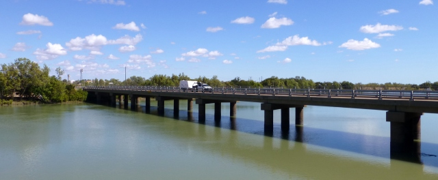 The Traffic Bridge over the Norman River at Normanton