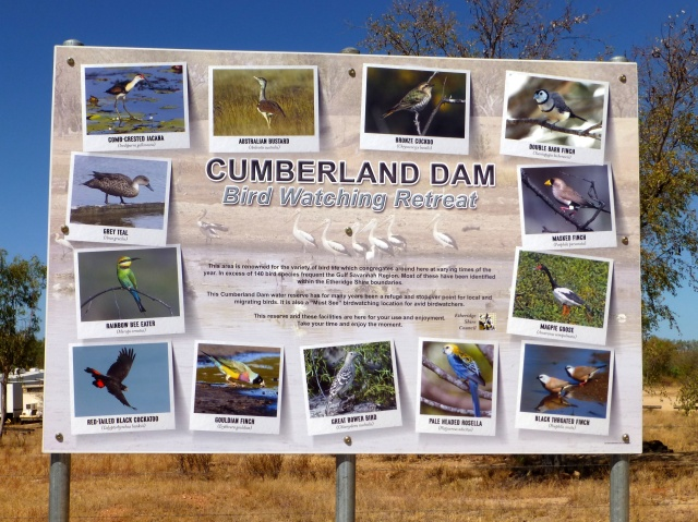 Bird watching retreat at the Cumberland Dam