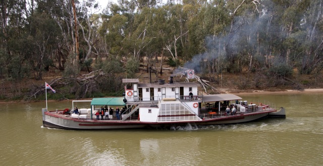 Paddle Steamer at Echuca