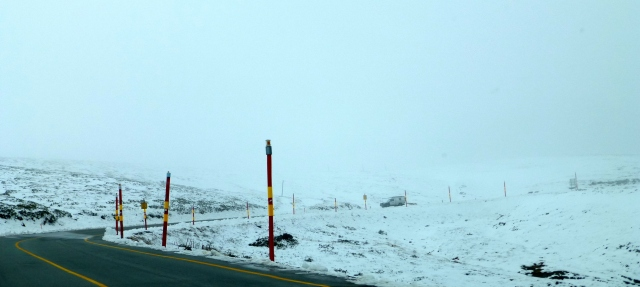 Snow at Mt Hotham - very early in the season