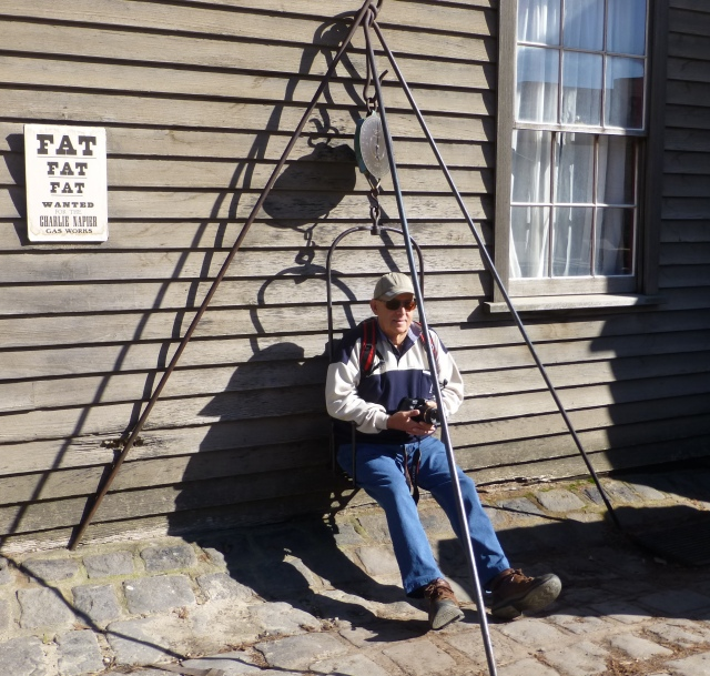 """""""Fat Fat Fat"""" - says it all at Sovereign Hill"""