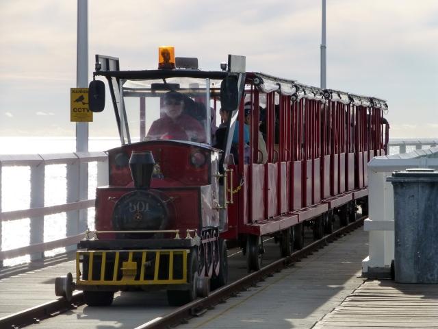Tram at Bussellton Jetty