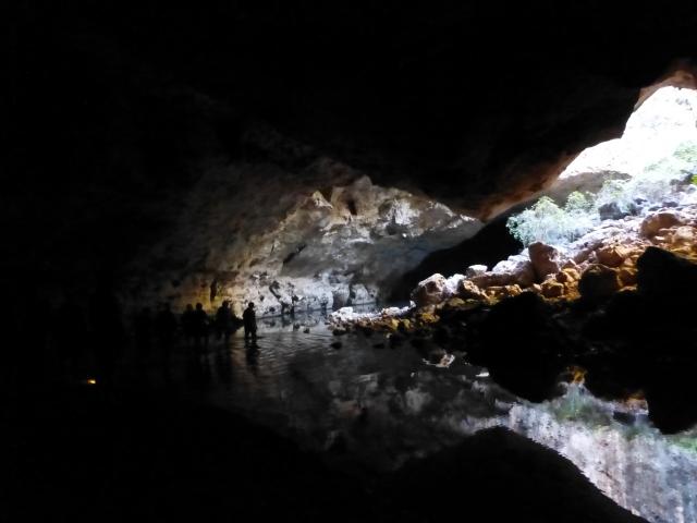 Underground at Tunnel Creek