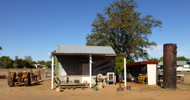 Part of the Ram Park Blackall display