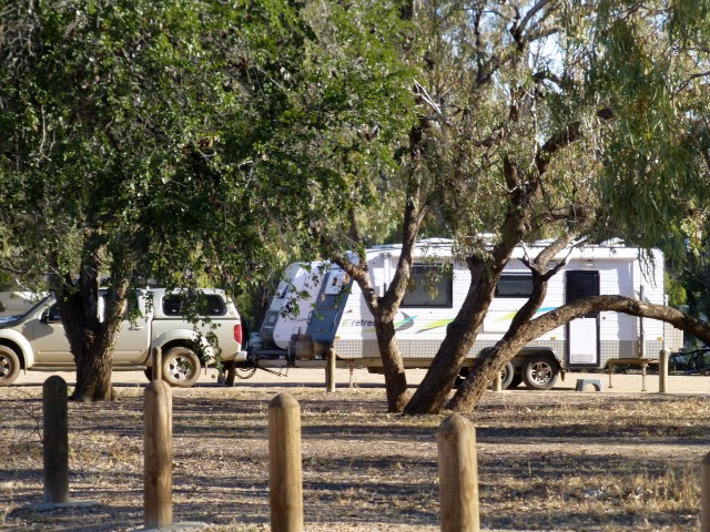Our camp at Blackall