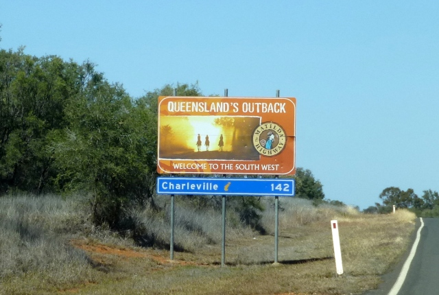 Welcome to Murweh Shire - Charleville is a little way down the track