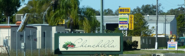 We have arrived at Chinchilla