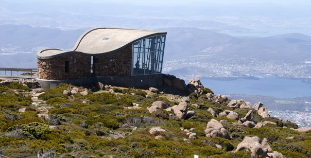 View platform Mt Wellington
