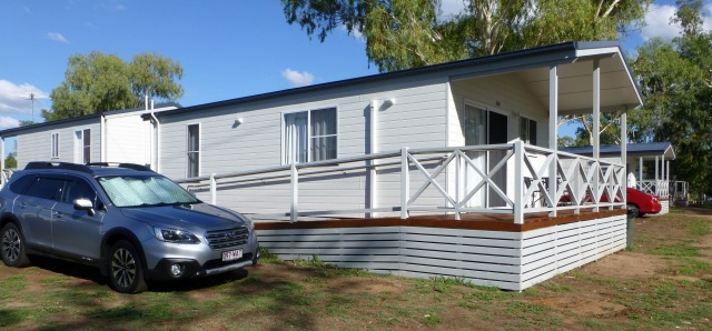 Our Cabin for the night at Narrabri