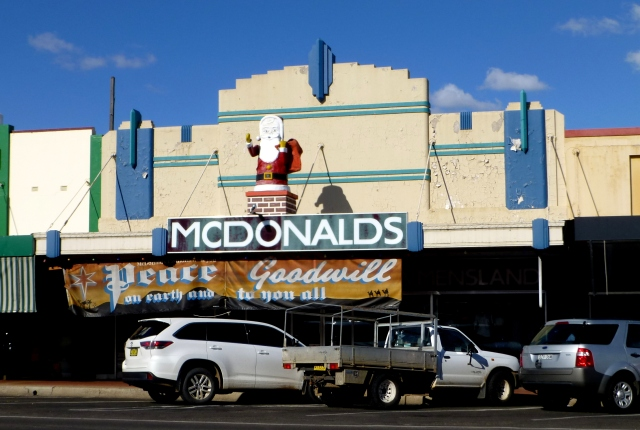 No Golden Arches at this McDonalds in Narrabri