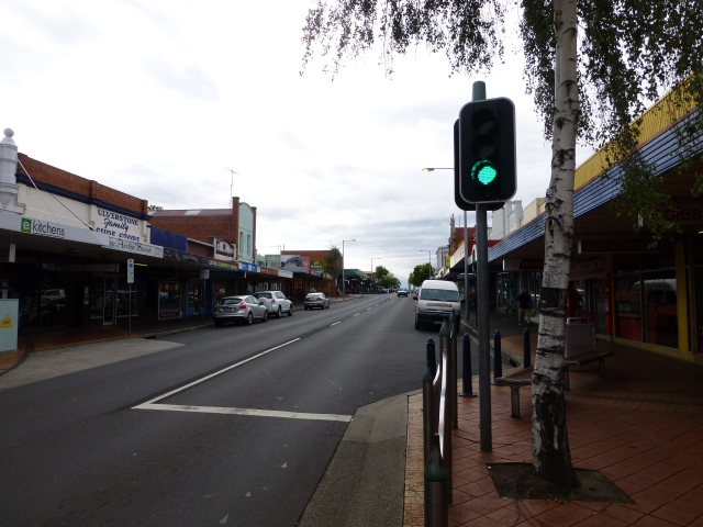 Main Street Ulverstone - Sunday Morning