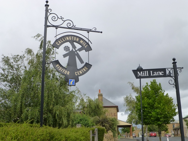 The entrance to Callington Mill