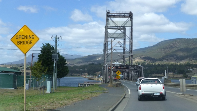 Lifting Bridge over the Derwent River