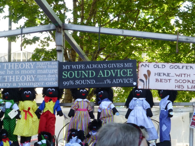 Sound advice at Salamanca Market