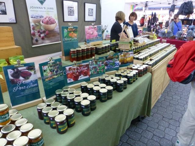Joanna's Jams at Salamanca Market