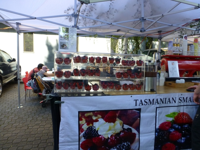 Berry delights at Salamanca Market