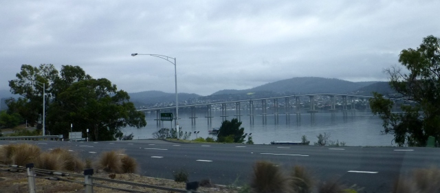 The Tasman Bridge at Hobart