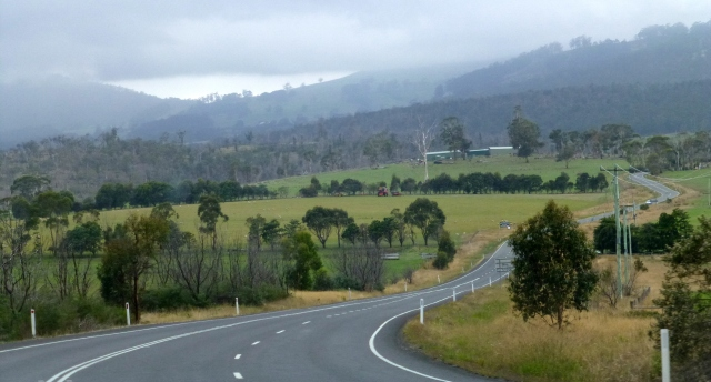 Along the road to Port Arthur