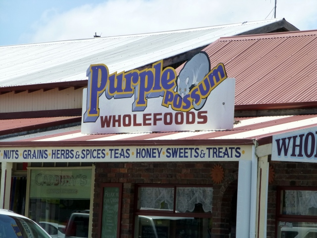 The Purple Possum in St Marys