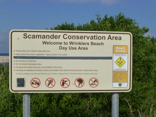 Scamander Conservation Area