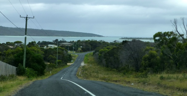 Along the road to St Helens Point