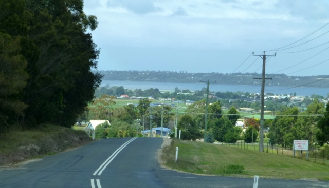 Entering the Town of St Helens from the west