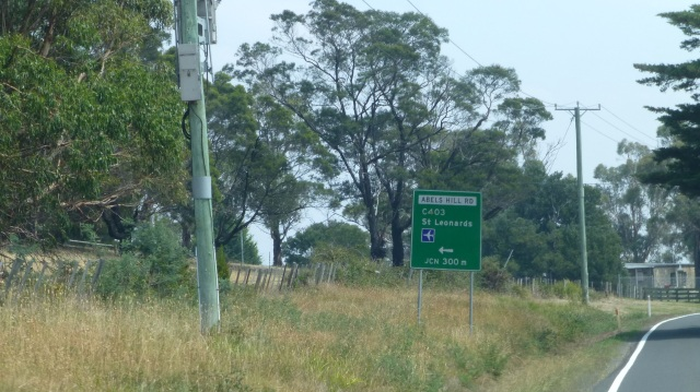 Near the turnoff to St Leonards