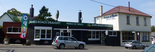 Prince of Wales Hotel at Evandale