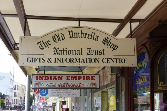 The Old Umbrella Shop