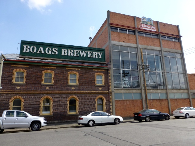 Boags Brewery in Launceston