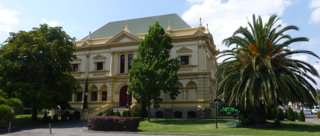 The Albert Hall performing arts centre in Launceston