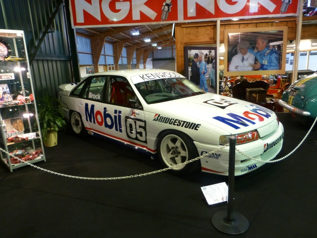One of Peter Brock's 05 Holdens