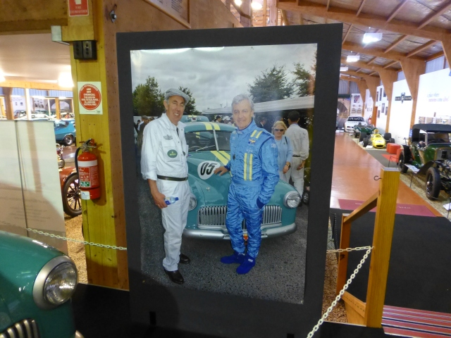 Peter Brock photograph - life size